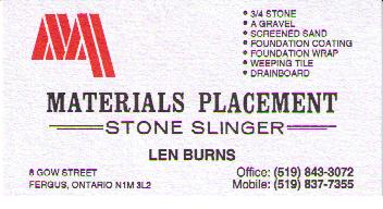 Materials Placement Ltd.