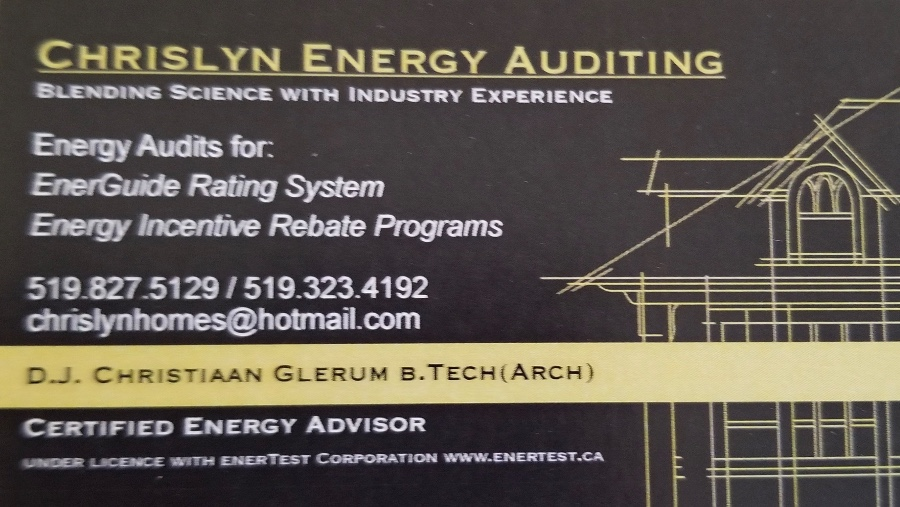 Chrislyn Energy Auditing